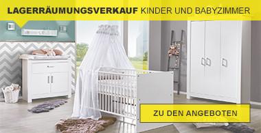 Lagerräumungsverkauf Babyzimmer