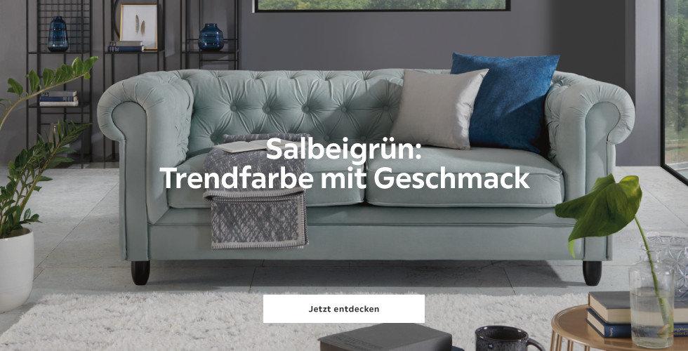 Salbeigrün - Trendfarbe mit Geschmack