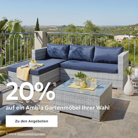 20% auf ein Ambia Gartenmöbel