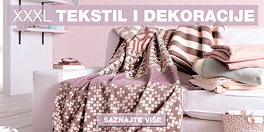 Ružičaste deke iz asortimana kućnog tekstila Lesnine XXXL