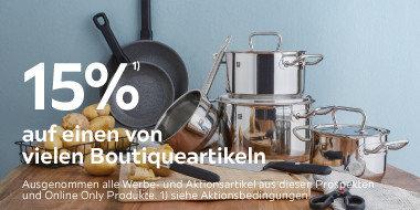 15% auf einen von vielen Boutiqueartikeln  > MEGA15