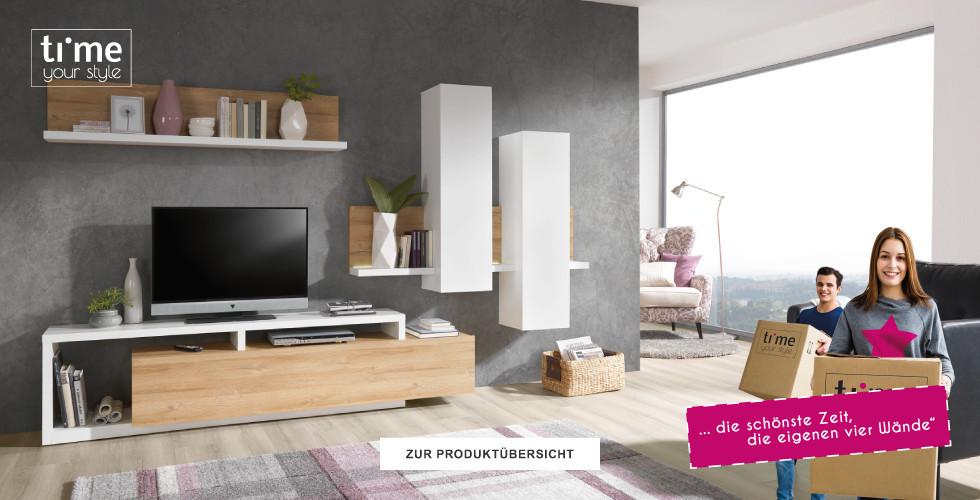 Style dein Wohnzimmer mit vielen Produkten der Marke Time