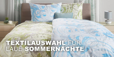 Textilauswahl fuer laue Sommernaechte