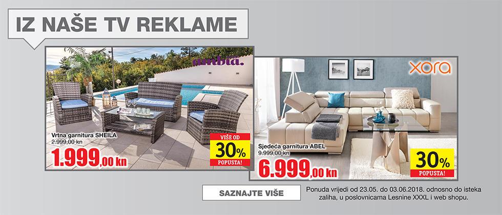 iz tv reklame Lesnina XXXL
