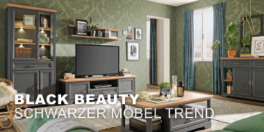 Black Beauty  Schwarzer-Möbel-Trend