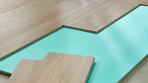 Kročejová podložka pod plovoucí laminátovou podlahu