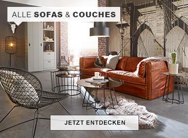 Wohnzimmer Echtleder Sofa