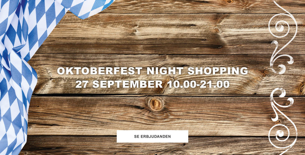 Oktoberfest Night Shopping