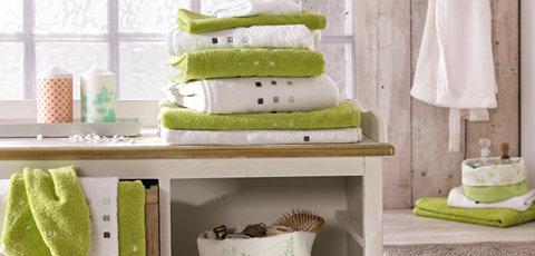 Koupelnový textil Esposa