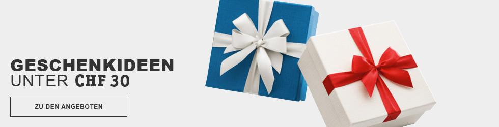 Geschenkideen unter CHF30