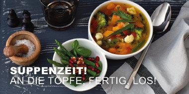 Suppenzeit - Auf die Töpfe, fertig, los!