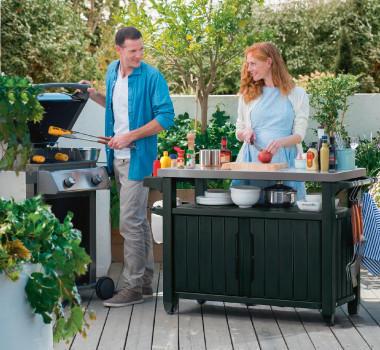 Outdoormöbel Garten Grillen Griller Terrasse