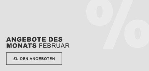 Angeboted des Monats Februar