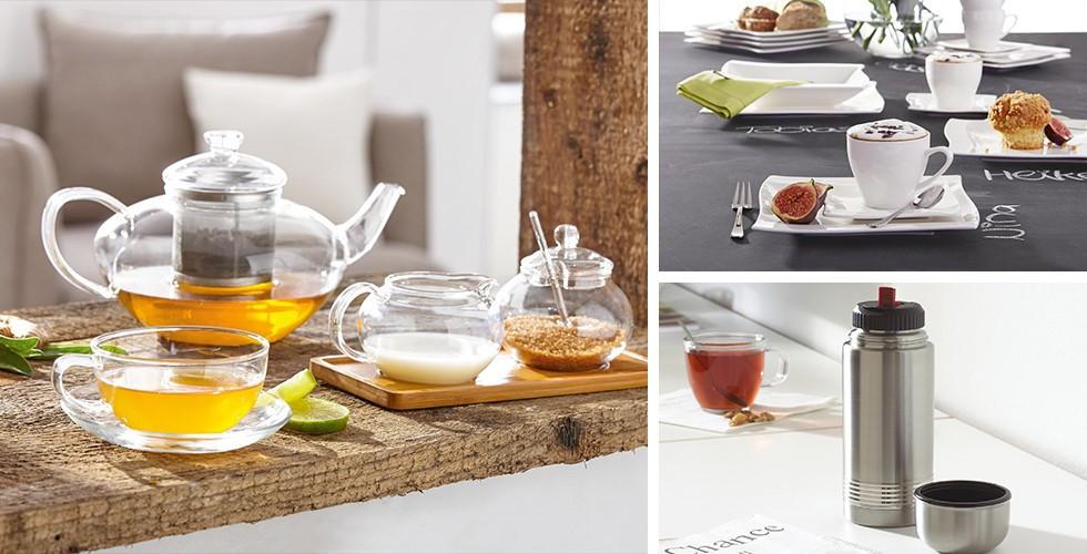 Teetassen, Kaffeetassen, Teekanne, Kaffeemaschine, Isolierflasche bei XXXLutz.