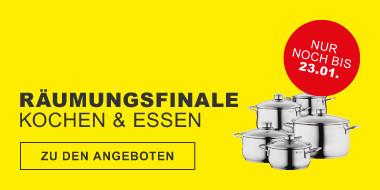 Räumungsfinale Kochen & Essen