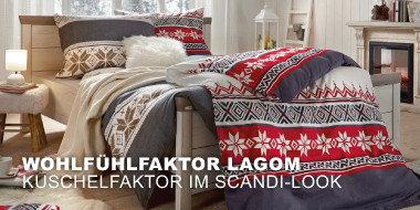 Wohlfühlfaktor Lagom Kuschelfaktor im Scandi-Look
