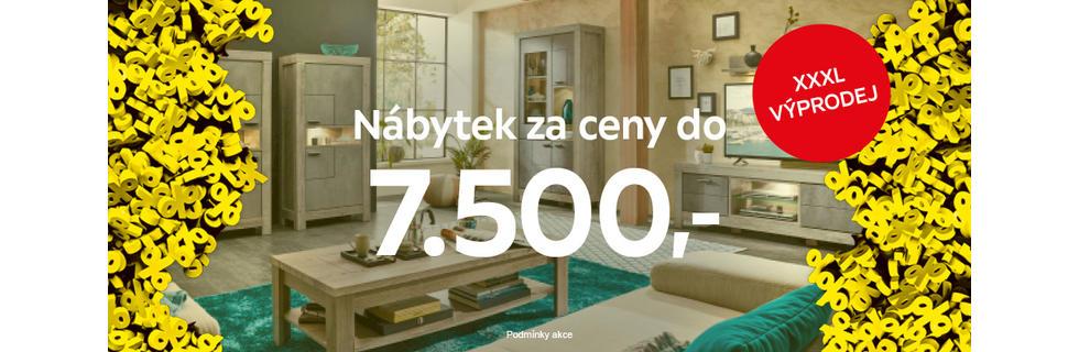 Velký výprodej nábytku do 7500 Kč je tu!