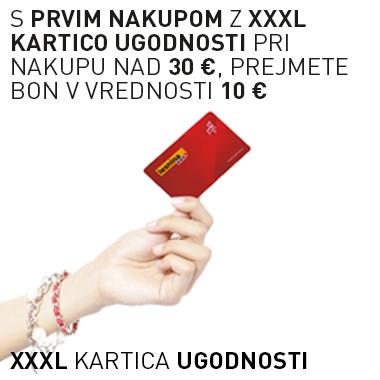 XXXL kartica ugodnosti