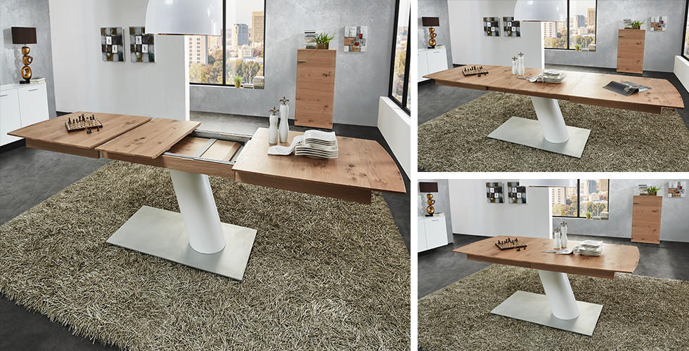 Jídelní stůl s kvalitním synchronním výsuvem Ambiente v XXXLutz.
