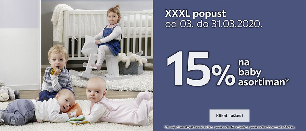 15% popust na baby asortiman