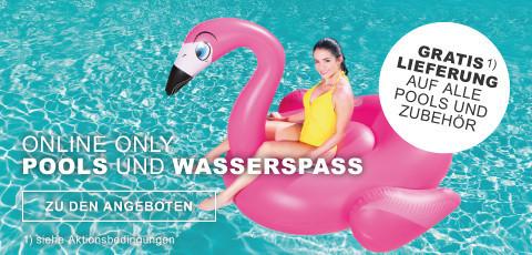 Online Only Pools und Wasserspaß