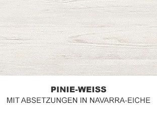 Pinie-Weiß mit Navarra-Eiche
