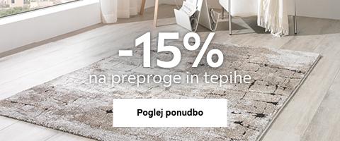 -15% na preproge in tepihe
