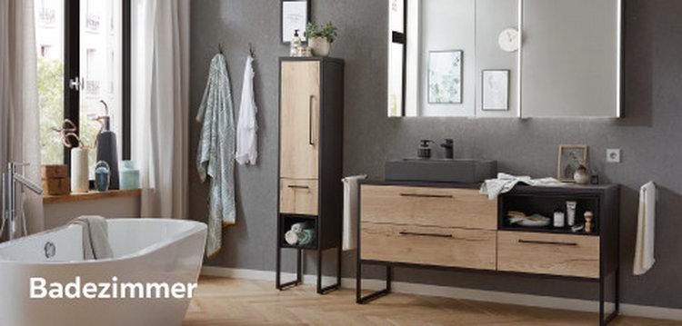 Badezimmer holz-weiß