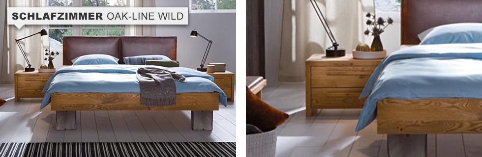 Schlafzimmer Oak-Line Wild Hauptteaser