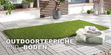 Outdoorteppiche und -böden