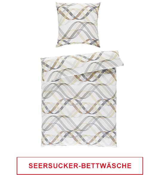 Seersucker Bettwäsche