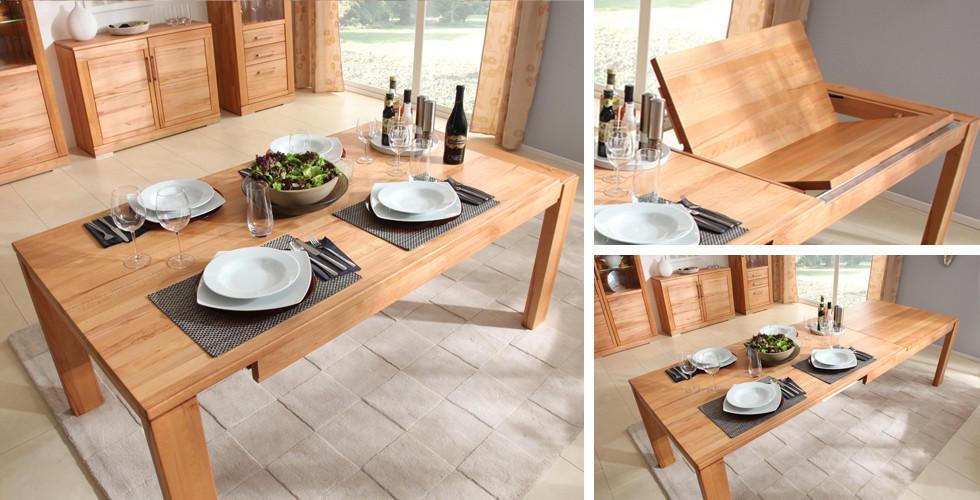 Jídelní stůl dřevěné desky motýlkový výsuv.