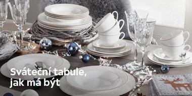 Sváteční tabule jak má být