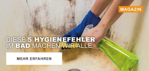 Diese 5 Hygienefehler machen wir alle