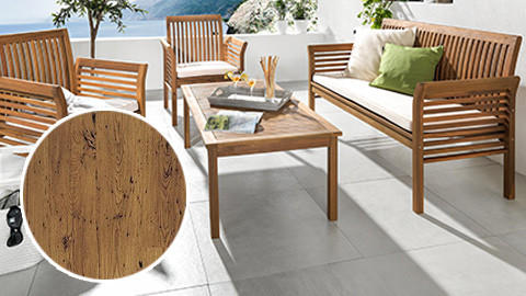Holz Gartenmöbel | Teak Gartenmöbel, Eukalyptus etc.