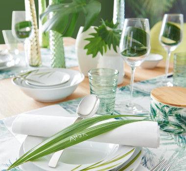 Green Living Tischdekor