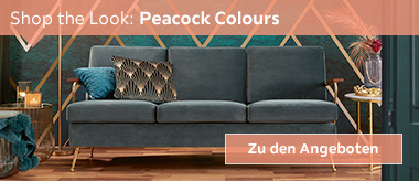 Shop the Look: Peacock Colours