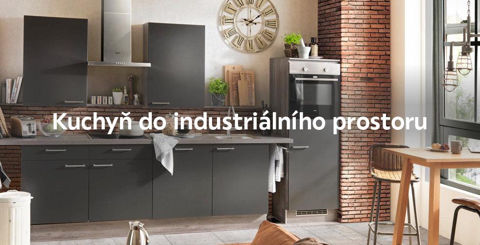 Malá industriální kuchyň