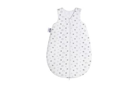 Babyschlafsack mit Sternchenmuster
