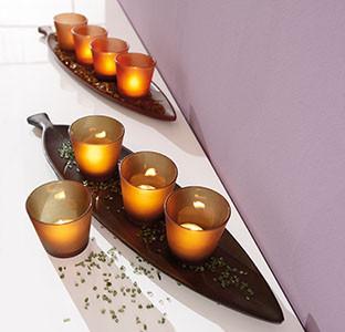 romantické svíčky