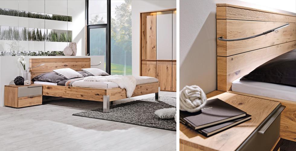 Entdecken Sie gesundheitsfördernden Holzschlafzimmer bei XXXLutz.
