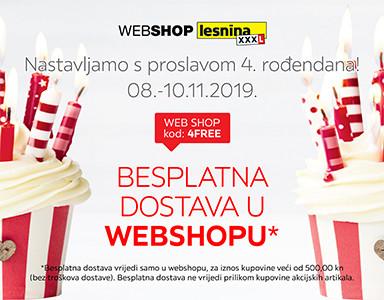4. rođendan webshopa Lesnina XXXL
