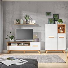 Wohnwandserie Nordic