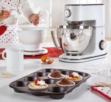Winter days Backen Backspaß Kekse Rot Weiß Küchenutensilien Küche Weihnachten Muffins