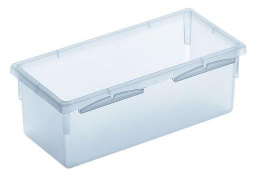 AUFBEWAHRUNGSBOX 15/8/5 cm - Klar, Basics, Kunststoff (15/8/5cm) - Rotho