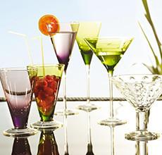 Elegantní sklenice na koktejly vhodné na každou party v XXXLutz.