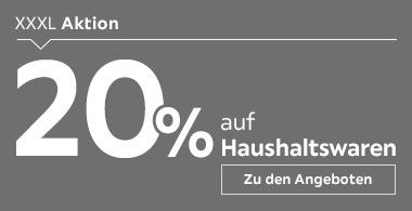 20% auf Haushaltswaren