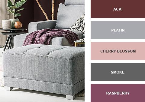 Acai, Raspberry und Cherry Blossom - Die Farben des Frühlings