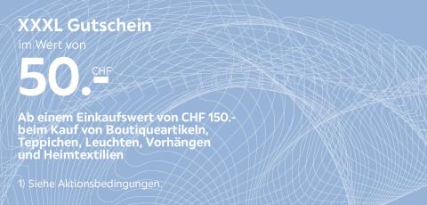 XXXL Gutschein