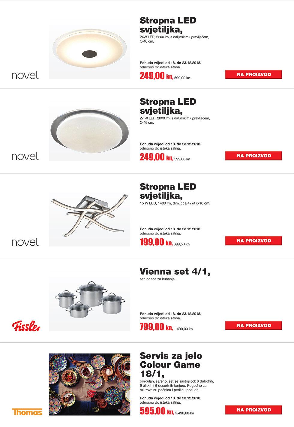 TV reklama Lesnina proizvodi